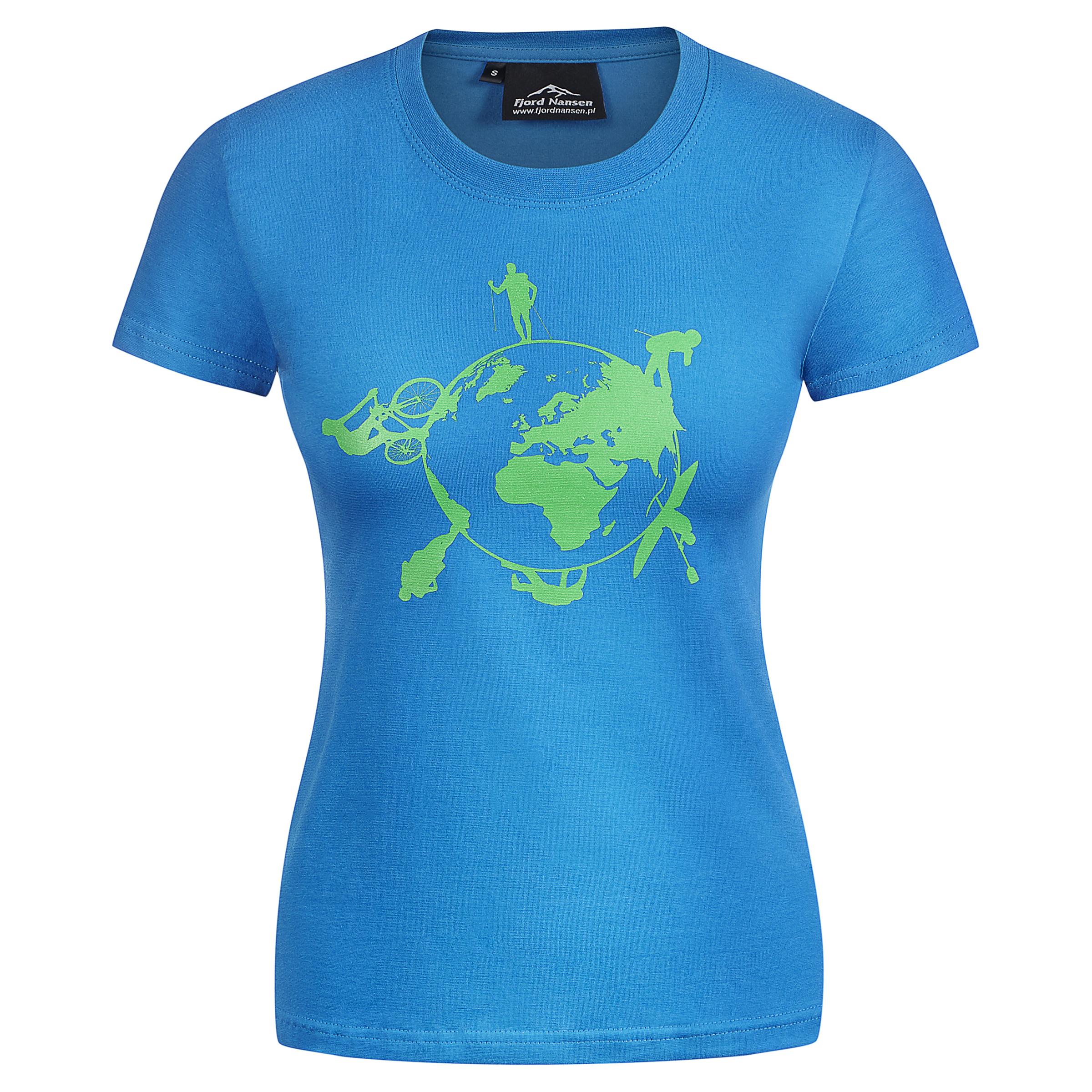 912e3fa85817a Футболка Fjord Nansen EARTH WOMEN T-SHIRT. Цена 736,00 грн
